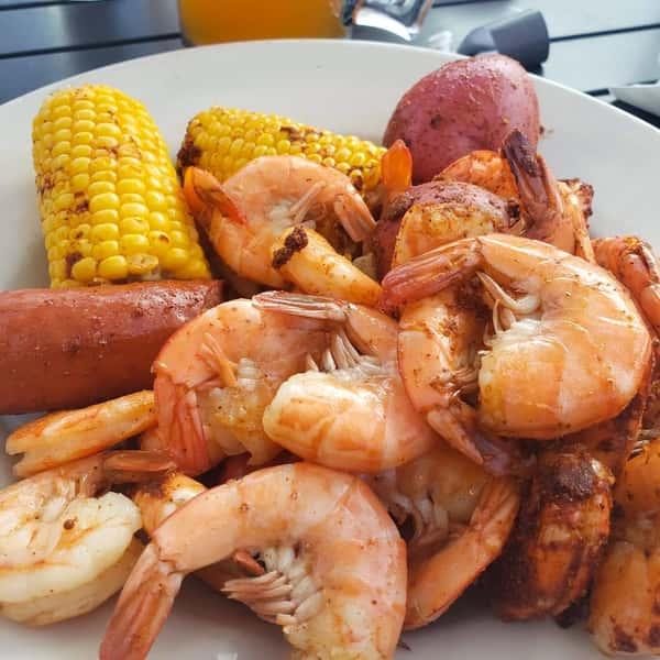 """Dirty Bag"" Shrimp Boil"