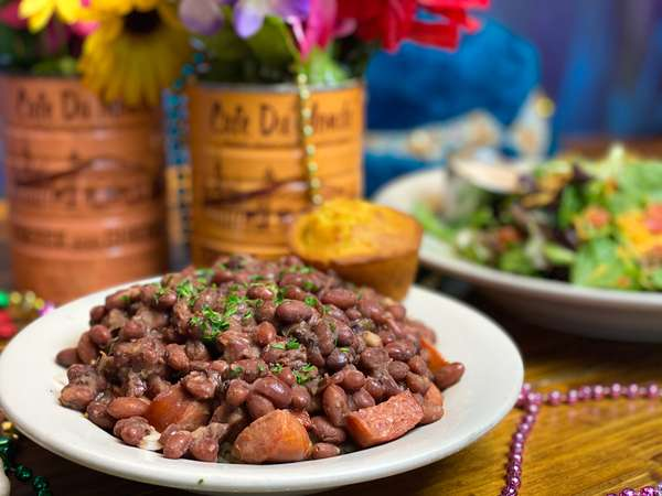 Andouille, Beans, & Rice