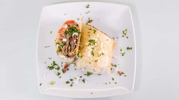 Fat Greek Breakfast Burrito