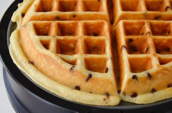 Chocolate Chip Belgian Waffle