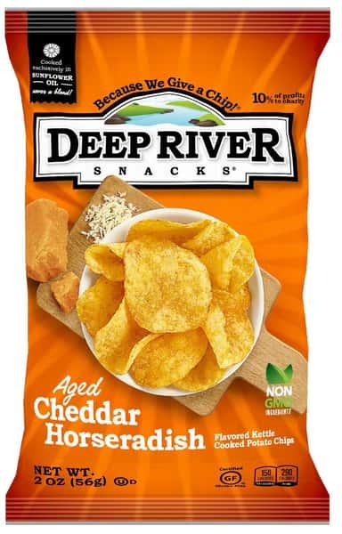 2oz Deep River Aged Cheddar Horseradish