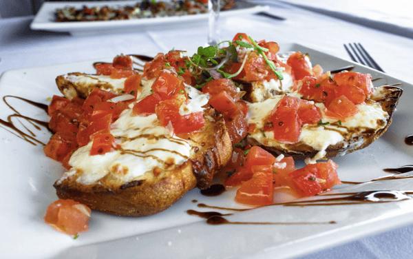 Burrata Bruschetta (2)