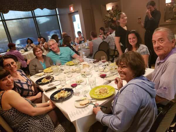 wine tasting turi family