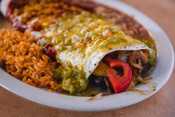 #26 Fajita Burrito