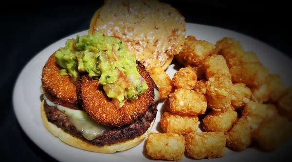 Southern Fried Green Tomato Burger