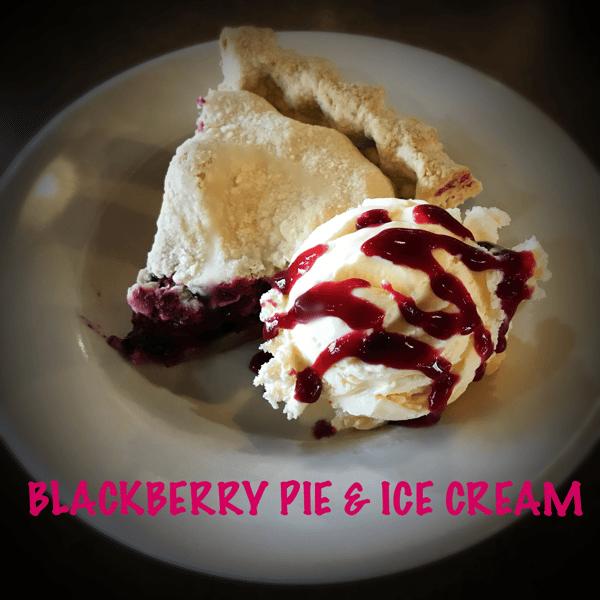Marionberry Pie & Ice Cream