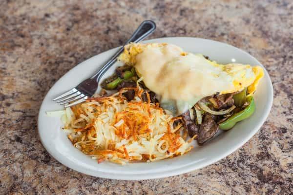 Philly Omelette