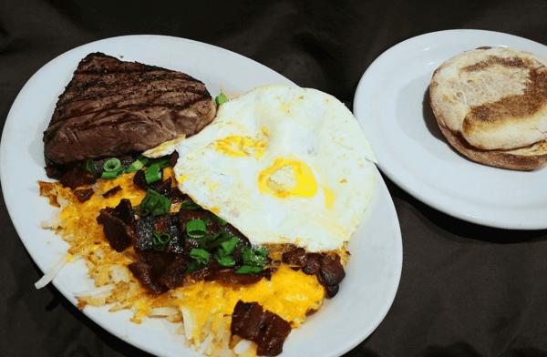 Steak and Eggs*