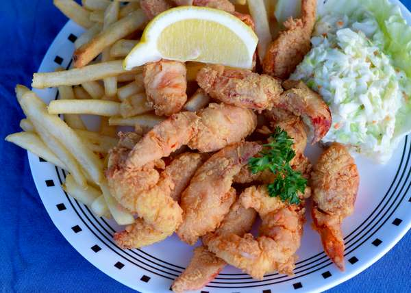 Fried Lobster Meat Platter