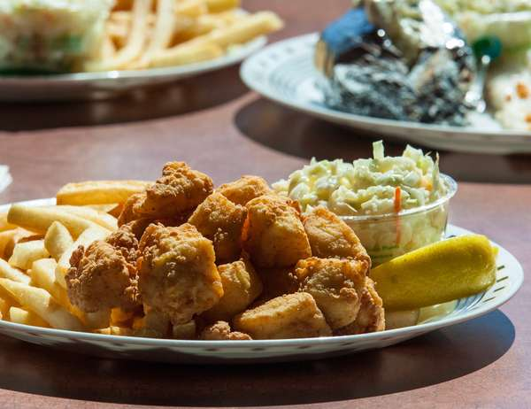 Fried or Baked Scallop Platter