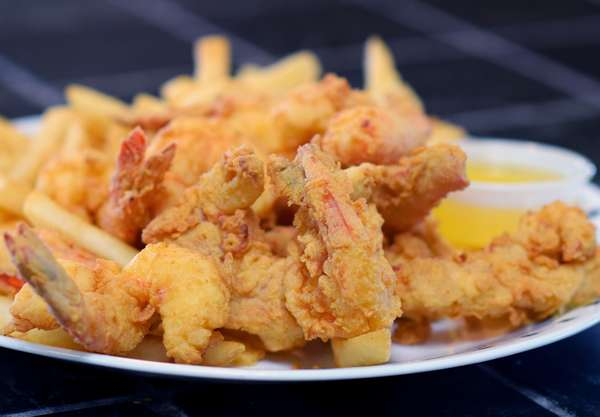 Fried Lobster & Butterfly Shrimp Combo