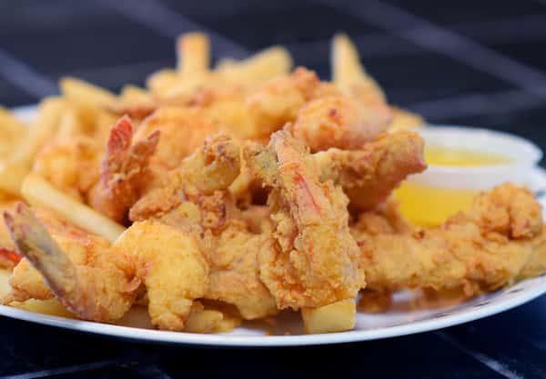 Fried Lobster & Butterfly Shrimp Combo