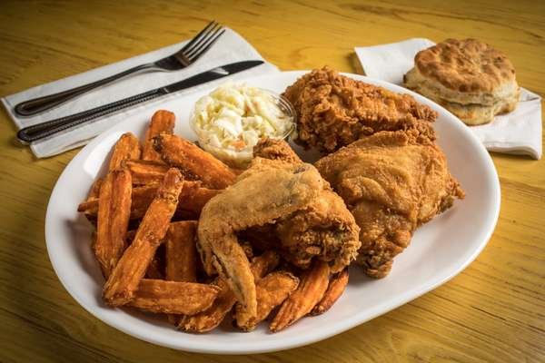 Southern Fried Chicken Dinner