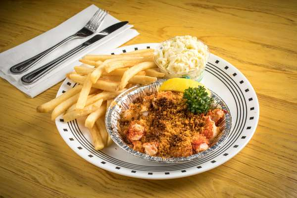 "Baked ""Lazy Man's"" Lobster Casserole"