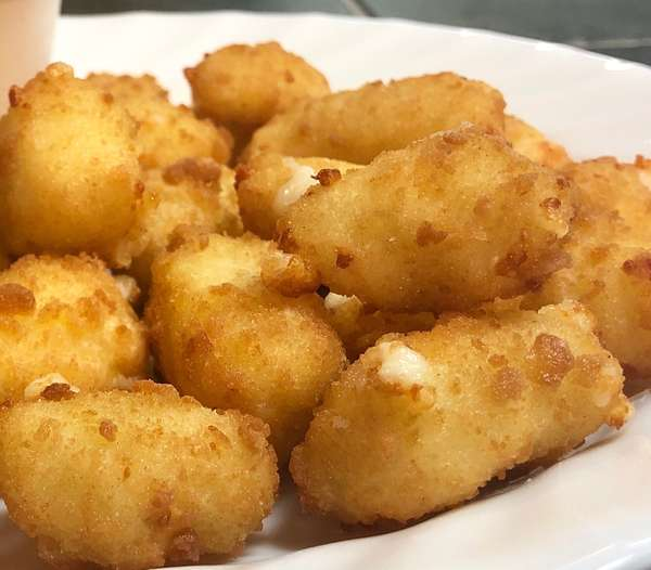 NEW! Fried Cheddar Cheese Curds