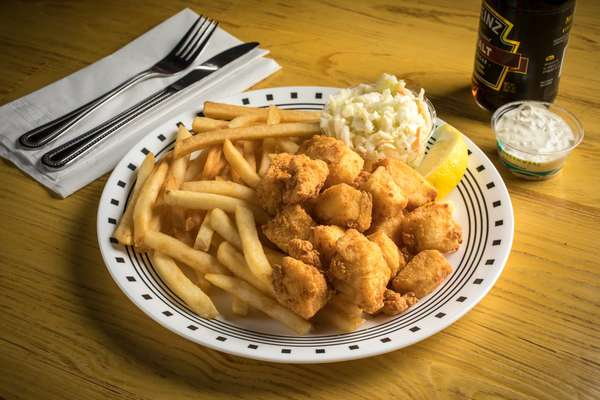 Fried Native Scallop Platter