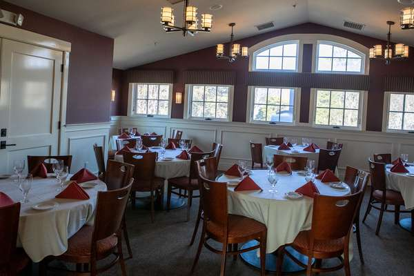 Dining area for private events