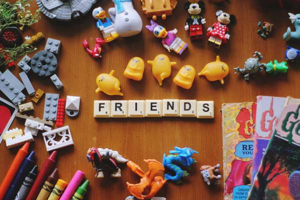 friends and toys
