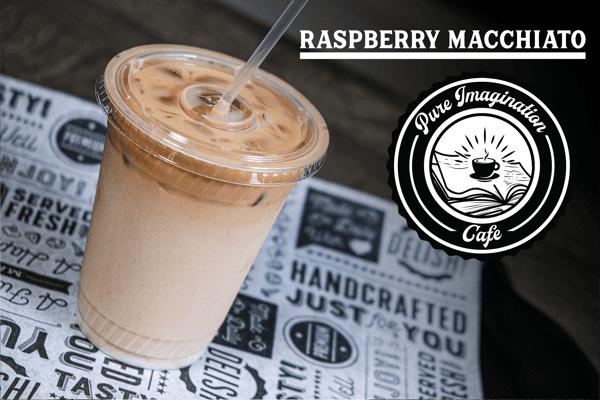 Iced Raspberry Macchiato