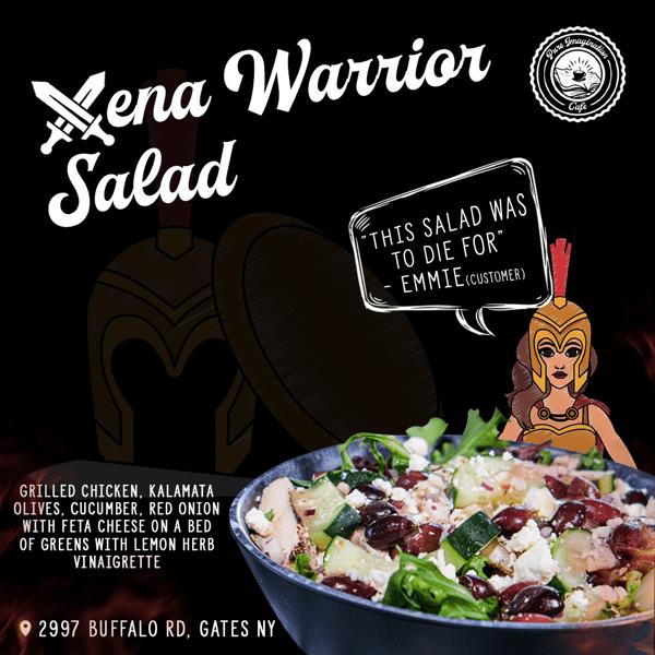 Xena, Warrior Salad