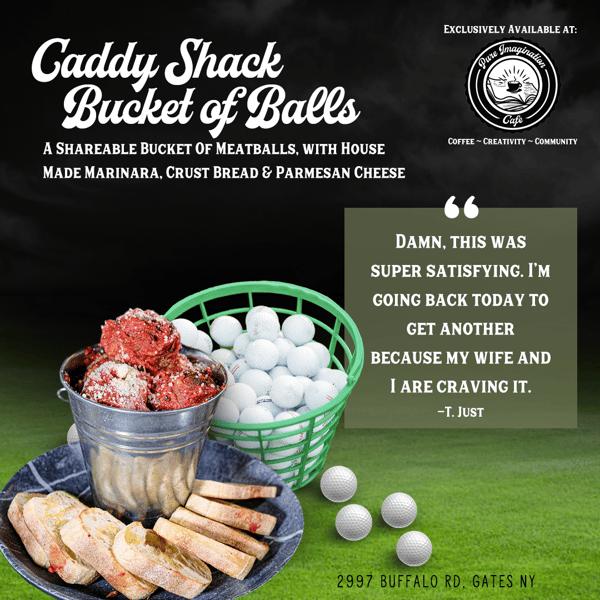 Caddy Shack Bucket of Balls