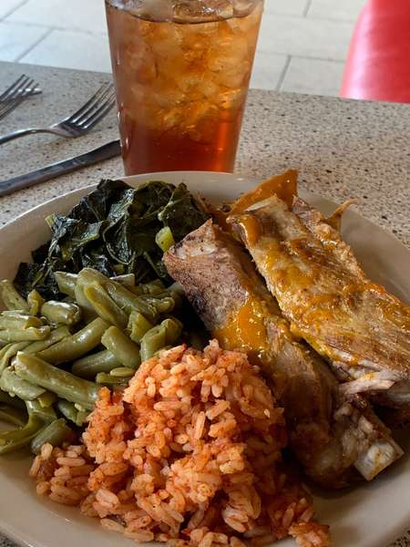 BBQ Ribs Meal