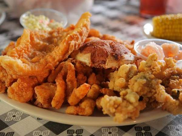 Ms. Scealy's Seafood Platter