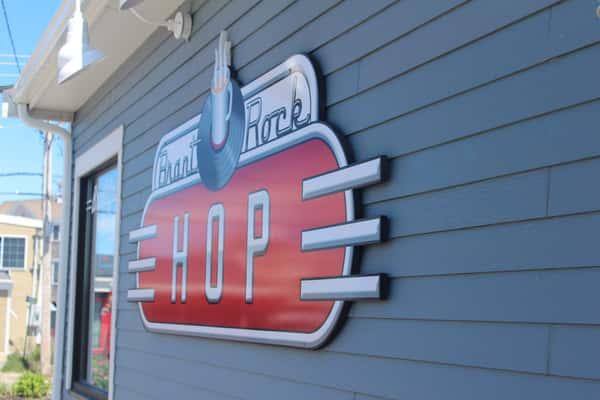 Brant Rock Hop sign