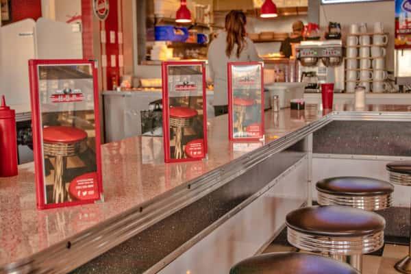 Brant Rock Hop diner counter