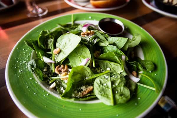 Spinach Walnut Salad