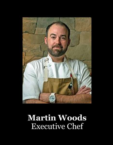 chef martin woods