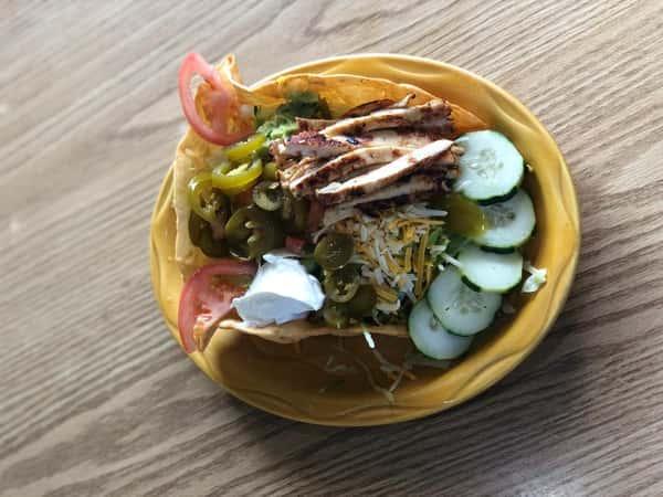 Flying Tortilla Taco Salad