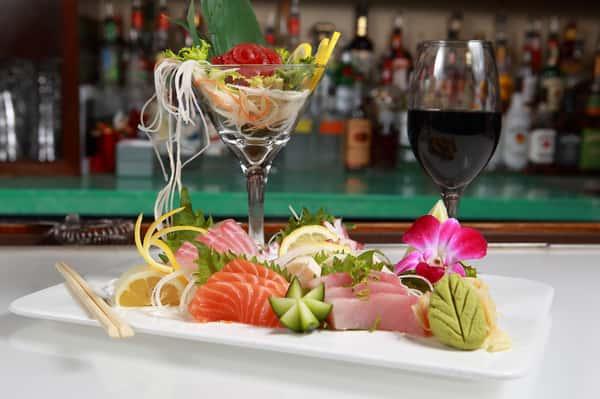 sushi deluxe dinner
