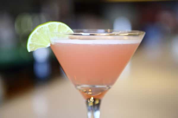 pomegrant martini
