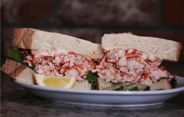 lobster sandwich