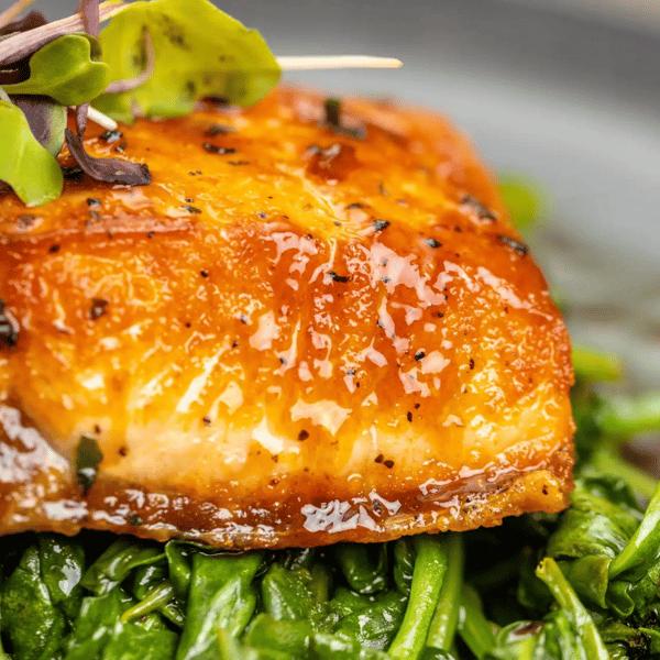 Honey Roasted Salmon