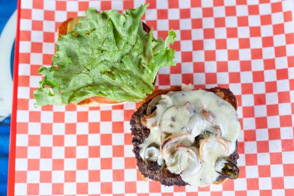 """#6- """"El Caliente"""" Burger"""
