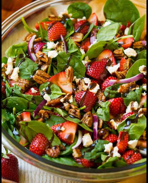 Strawberry Summer Salad