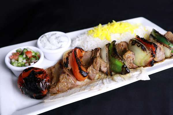 Filet Mignon Shish Kabob Plate