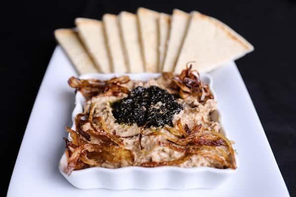 Eggplant Dip w/Greek Pita