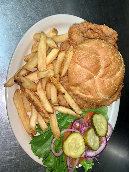 Fried Pork Tenderloin