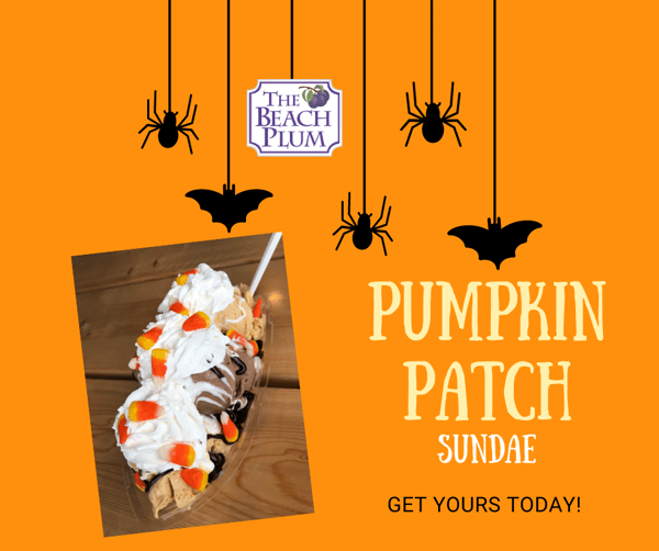 pumpkin patch sundae