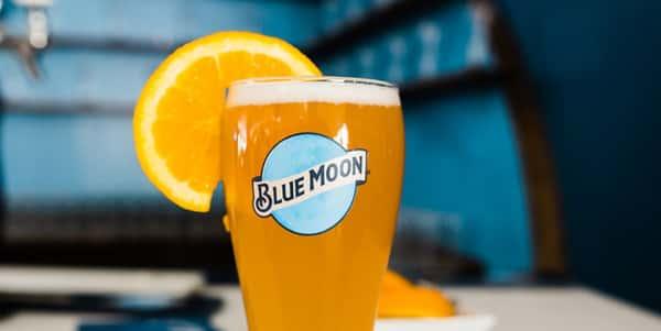 $4 Blue Moon Pints