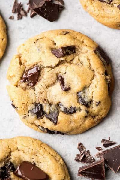 Warm Chocolate Chip Cookie