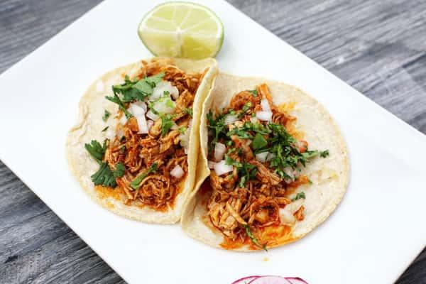 Tinga Poblana Taco