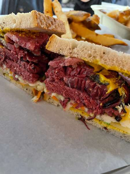 Montreal Smoked Meat Sandwich,