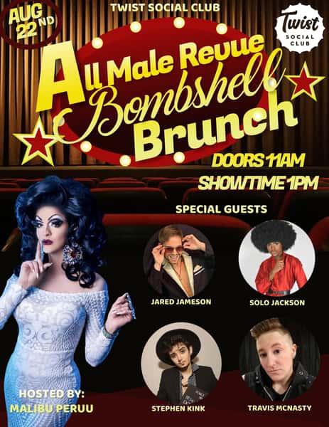Bombshell Brunch: All Male Revue