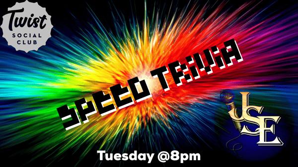 Tuesday- Trivia Night