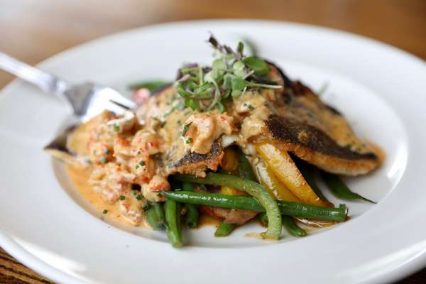 Pan Crisped Trout