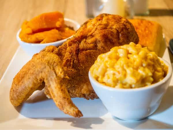 Fried Chicken Breast & Wing